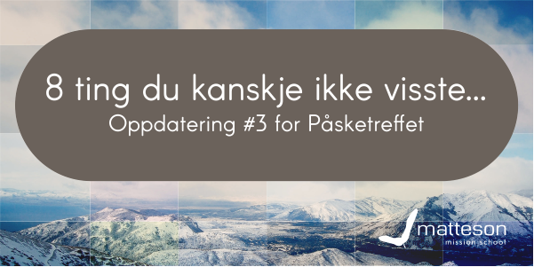 003 - 8 things that you didn't know norsk